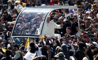 Papa apunta al narcotráfico en primer mensaje en México [VIDEO]
