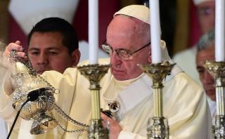 Papa Francisco recordó a víctimas de la violencia en México