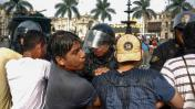 Protestaban contra la homofobia y fueron reprimidos por la PNP