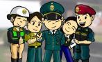 La Policía Nacional se burla de los solitarios en San Valentín