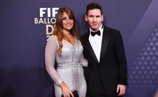 Lionel Messi: el romántico beso de su pareja por San Valentín