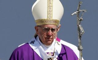 """Papa clamó contra emigración y """"traficantes de muerte"""" [VIDEO]"""