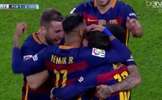 Lionel Messi marcó golazo de tiro libre con Barcelona [VIDEO]