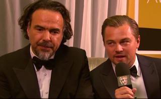 Leonardo DiCaprio habla sobre sus posibilidades en el Oscar