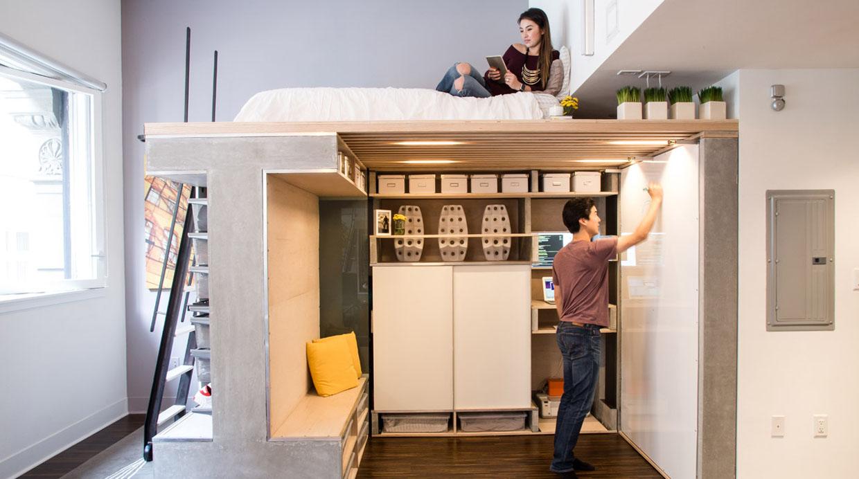 domin loft la mejor manera de aprovechar un espacio