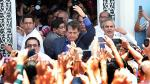 Alan García dice que no piensa en declinar su candidatura - Noticias de cesar garcia peralta