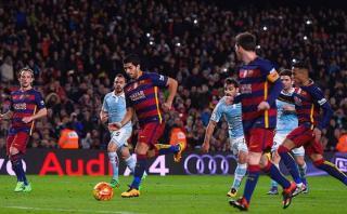 ¿Cómo bautizarías el penal de Messi y Suárez en el Barcelona?