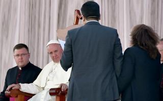 "El Papa se reunió con ""nuevas"" familias en Tuxtla Gutiérrez"