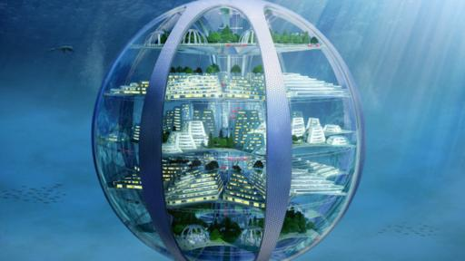 A medida que las ciudades crecen, los expertos predicen la construcción de ciudades bajo el mar en forma de