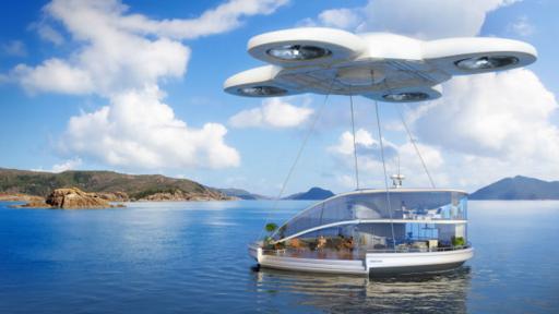 Drones personales nos permitirán llevar nuestra casa de vacaciones. (BBC)
