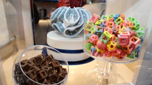 La comida de impresoras 3D ya es una realidad. (BBC)