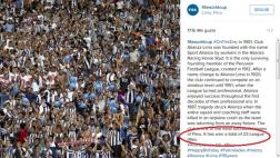 La FIFA saluda a Alianza Lima y dice que tiene 23 títulos