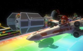 Star Kart: la genial fusión de Mario Kart y Star Wars [VIDEO]