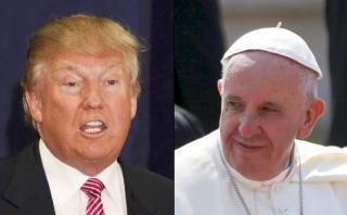 Vaticano a Trump: Papa Francisco no es un instrumento de México