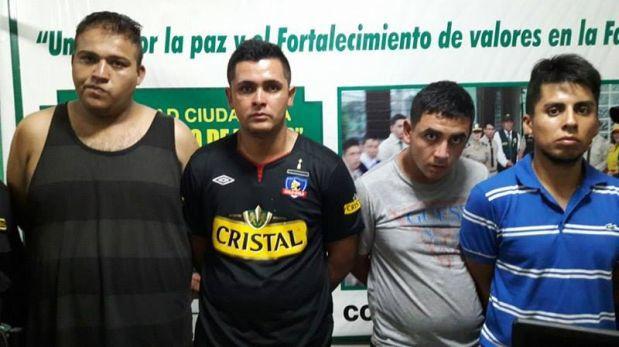 Barristas chilenos fueron detenidos por robar en supermercado