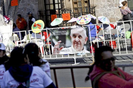 Así vive el papa Francisco su último día en México [FOTOS]
