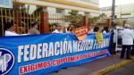 Médicos acatan paro de 24 horas para exigir aumento de sueldo - Noticias de federación médica del perú
