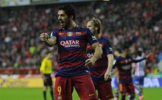 Luis Suárez suma más goles que cinco equipos de la Liga BBVA