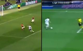 Comparan golazo de Cristiano con uno de Zidane de hace 13 años