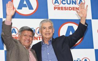 Villanueva considera especulaciones denuncias a César Acuña