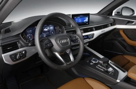 Audi presentó la nueva generación de su sedán A4