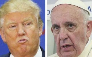 Trump al Papa: Deseará que yo sea presidente cuando ataque EI