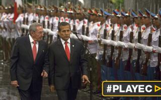 """Humala en Cuba: """"Debe quedar atrás todo tipo de bloqueos"""""""