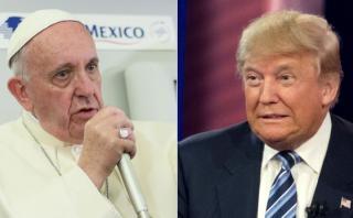 """Vaticano: Dichos del Papa sobre Trump """"no son ataque personal"""""""