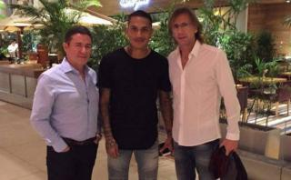 Selección: Ricardo Gareca cerró gira visitando a Paolo Guerrero