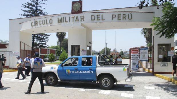 Municipalidad de Jesús María clausuró sede del Círculo Militar