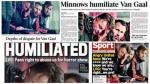 Medios exigen salida de Van Gaal tras derrota en Europa League - Noticias de bastian schweinsteiger
