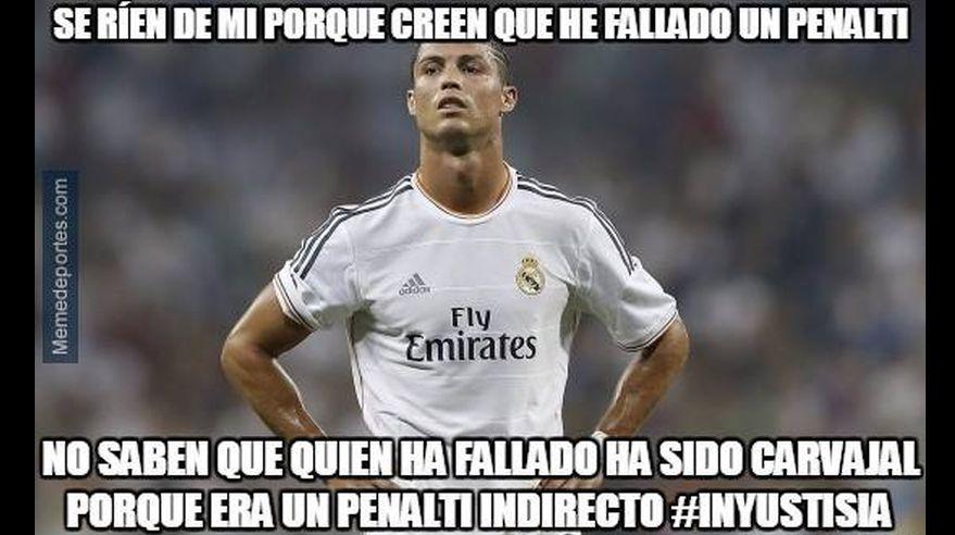 Real madrid hilarantes memes tras empate contra m laga for Oficina atencion al socio real madrid