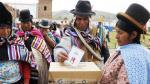 Bolivianos acuden a las urnas en un impredecible referéndum - Noticias de alvaro garcia linera