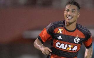 Paolo Guerrero marcó para Flamengo de cabeza en clásico de Río