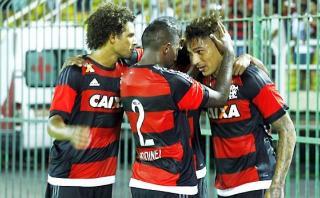 Con gol de Paolo Guerrero: Flamengo derrotó 2-1 a Fluminense