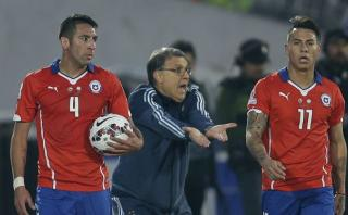 Martino sigue lamentando la derrota ante Chile del 2015