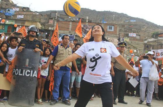 Keiko Fujimori, Julio Guzmán y PPK en campaña el fin de semana