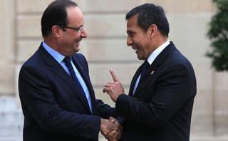 Presidente de Francia Francois Hollande llega hoy a Perú