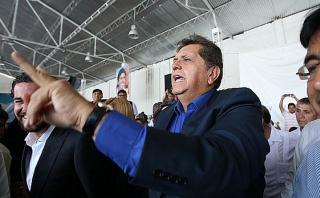 """García: Sería """"doloroso"""" que acusación contra Humala sea cierta"""