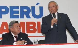 Humberto Lay renunció a la plancha presidencial de César Acuña