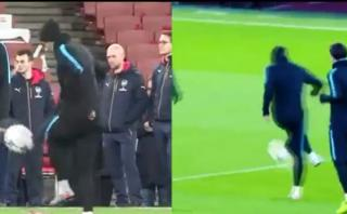 La MSN dio cátedra de dominaditas previo a duelo con Arsenal