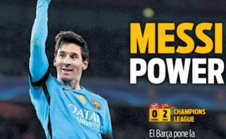 """La prensa española se rinde ante Messi: """"Es un regalo de Dios"""""""