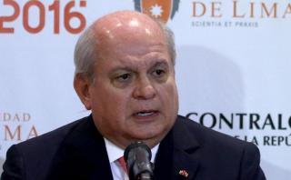 """Pedro Cateriano: """"Se han vulnerado los derechos del presidente"""""""