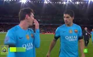 Messi: ¿Qué quiso decirle a Suárez tras triunfo del Barcelona?