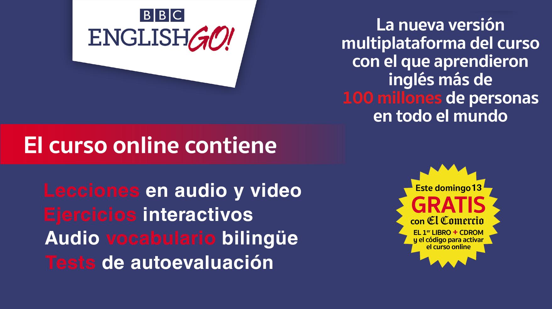 Curso interactivo de ingl s bbc english go colecciones for Curso de interiorismo online gratis