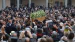 """Umberto Eco: Italia despidió al """"maestro de la palabra"""" [FOTOS] - Noticias de james joyce"""