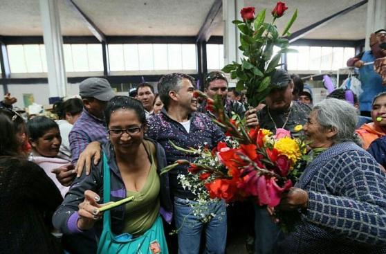 Julio Guzmán continúa con su campaña en el Cusco [Fotos]