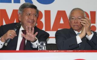 JEE aceptó renuncia de Humberto Lay a la plancha de César Acuña
