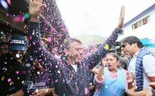 Julio Guzmán asegura que mantendrá la confianza de los peruanos