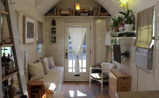 Comodidad y estilo en una casa de solo 14m2